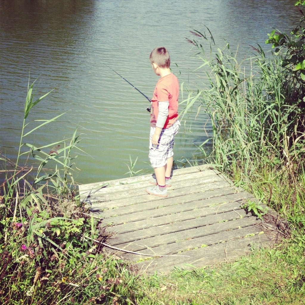 Fishing at Trevella holiday park