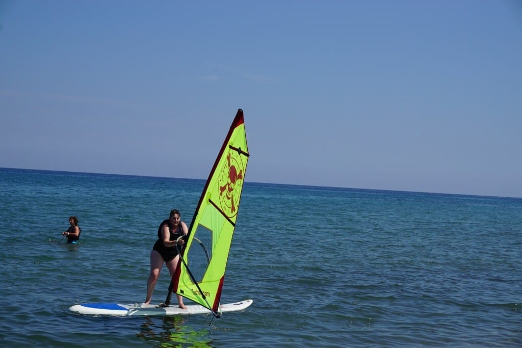 Windsurfing and me